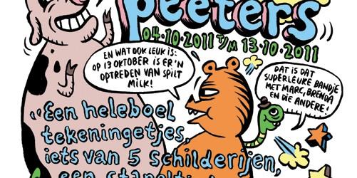 In de laatste twee weken dat we open zijn, knallen we nog met Sam Peeters. Als striptekenaar zit hij bij Lamelos, bracht vorig jaar zijn eerste stripboek uit: In de […]